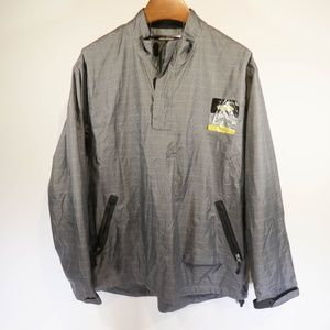 Greg Norman Waterproofs Play Dry Gray XL Pullover